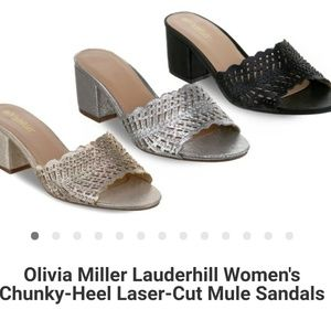 New Chunky Heel Sandals by Olivia Miller